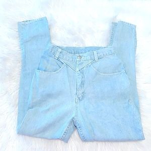 Sergio Valente Light Blue High Rise Jeans